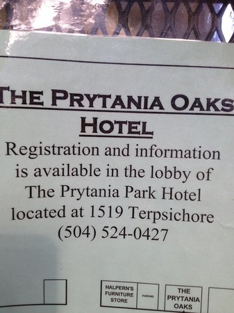 Prytania Oaks Hotel: All 3 Hotels Close To Each Other