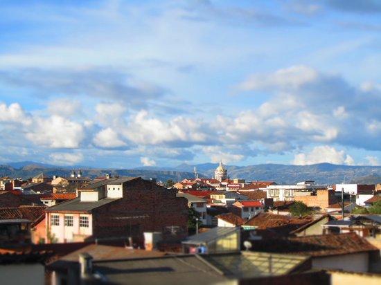 Hostal Hogar Cuencano: Vistas desde la terraza