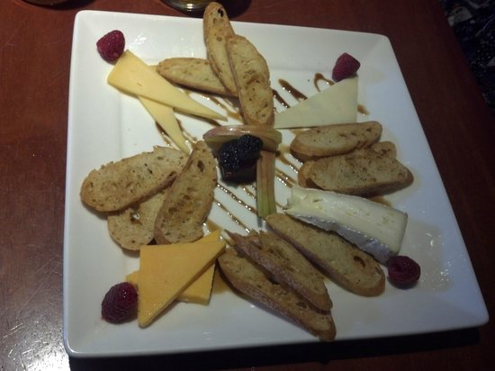 The Tap room: The cheese and cracker plate
