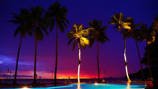 Palau Pacific Resort: Sunset