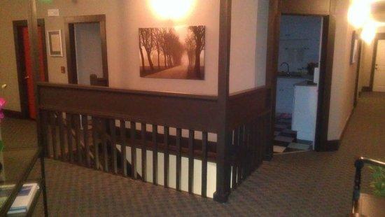 Camas Hotel: Hallway from room 20