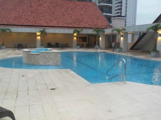 Central Park Hotel : Pool