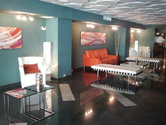 Central Park Hotel: Lounge