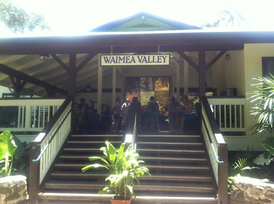 Waimea Falls Grill: Waimea Falls Entrance