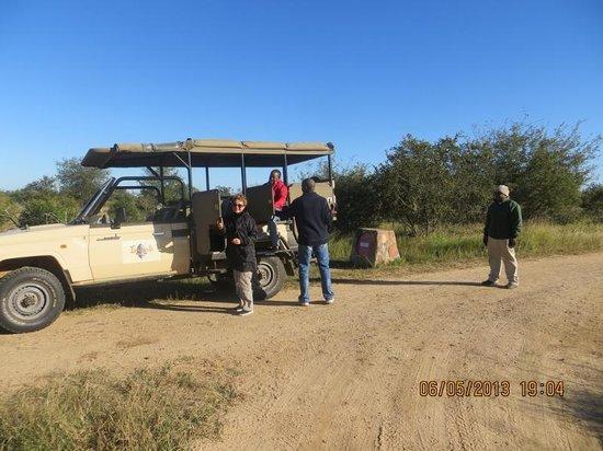 Imbali Safari Lodge: our safari truck