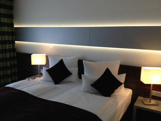 Hotel Metropol : Bett