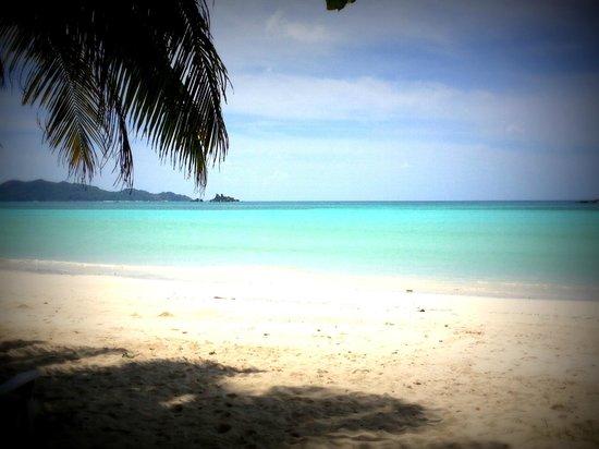 Les Villas d'Or: beach view