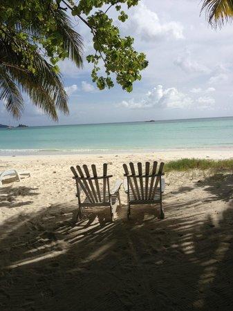 Les Villas d'Or: beach