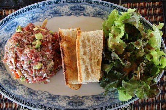 PADO Traiteur : Tartare au 2 saumons