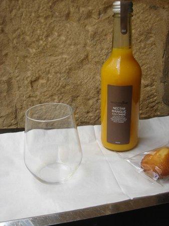 Hotel Tete d'or: Selection de Jus et Nectars