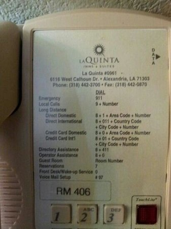 La Quinta Inn & Suites Alexandria Airport: Stay at your own risk