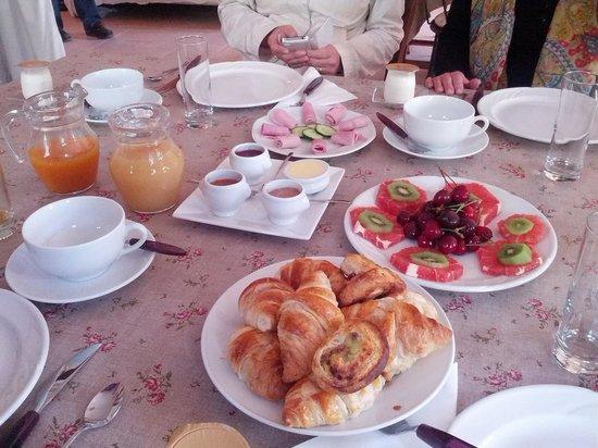 Mas D'Arvieux : La colazione