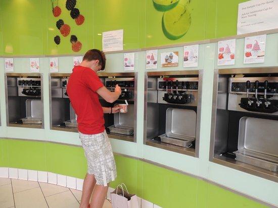 Tutti Frutti: self service des ice cream
