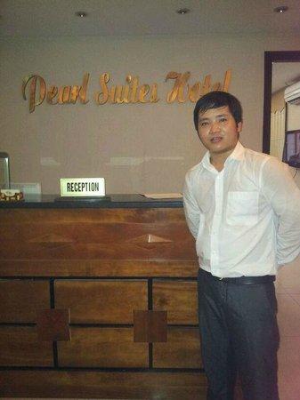 Mr Phuc of Pearl Suites Hotel Hanoi