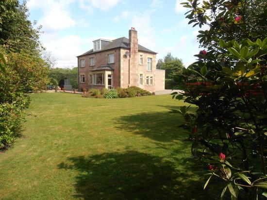 Craigrathan : Veiw from gardens