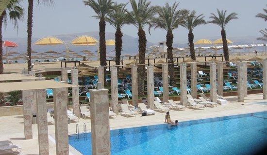 Herods Hotel Dead Sea: Pool