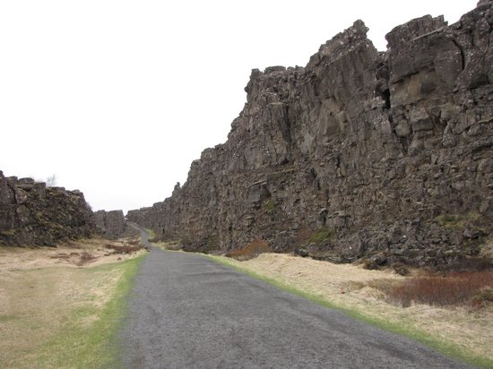 Thingvellir National Park: Allmännerschlucht