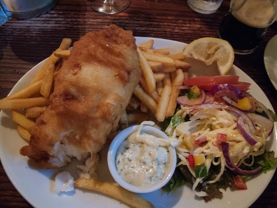 The Sailors Bar: The Sailor's Bar Fish and Chips