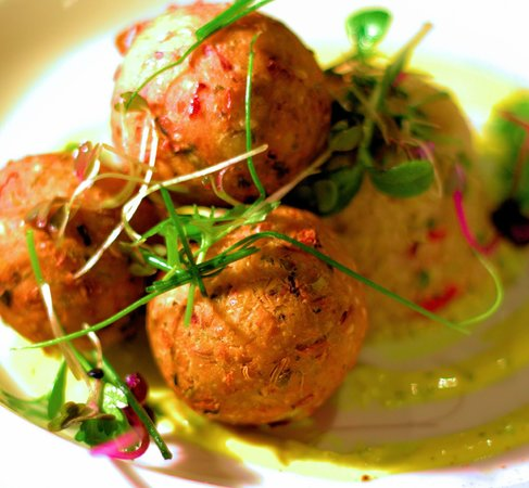 Cellar One: Spiced Chickpea Cakes
