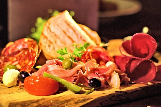 Cellar One at The Ross: Cured Meat Board