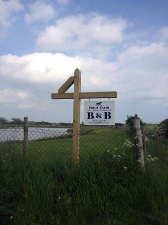 Point Farm B&B : Add a caption