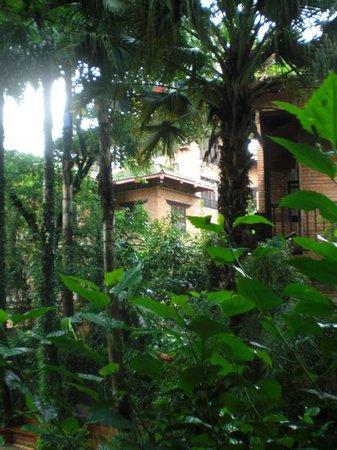 Hotel Vajra: Balkonaussicht