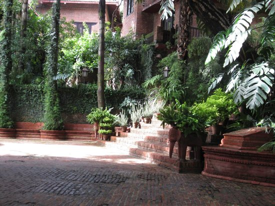 Hotel Vajra: Eingangsbereich