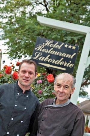 Hotel Laborderie: Le Chef de cuisine et son second