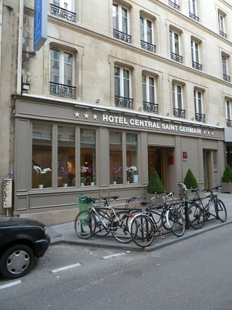 Hotel Central Saint Germain : hotel Central St Germain