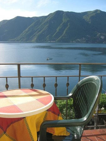 Hotel Walter au Lac: View from the balcony - spectacular!