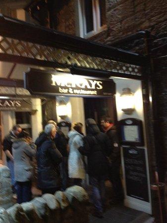 McKays: In attesa di entrare
