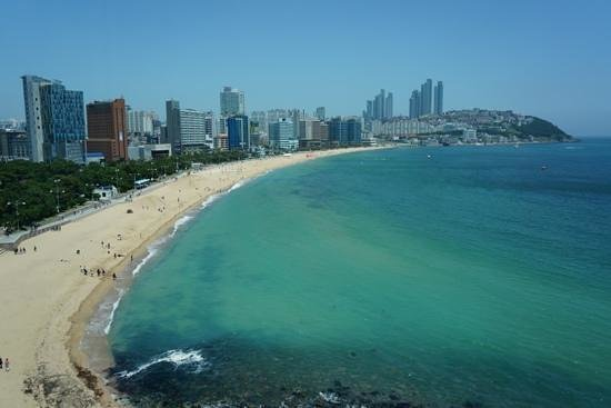 The Westin Chosun Busan: view from my room (823)