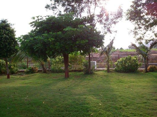 Balaji Resorts, Velhe Pune: Back View from Room