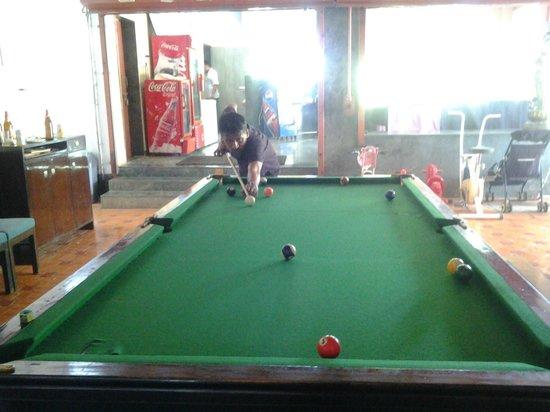 Balaji Resorts, Velhe Pune: pool table