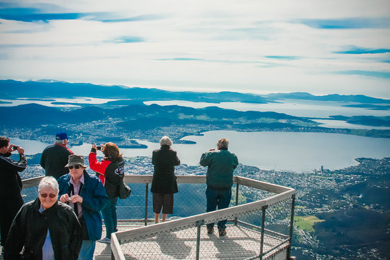 Bellerive, Australia: Taking in the sights of Hobart during the Big Ticket Tour