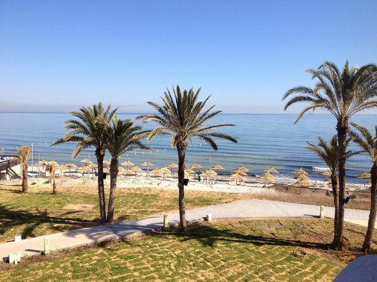 Skanes Family Resort: Our sea view from the room