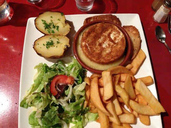 Pommes de Terre et Compagnie : delicious camembert