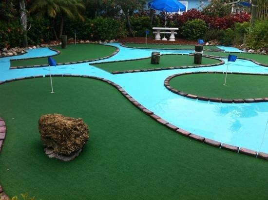 Silver Sands Gulf Beach Resort: Lille  golfbane