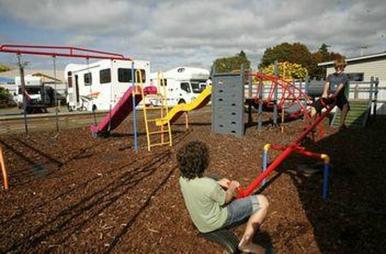 Rotorua Top 10 Holiday Park: Playground