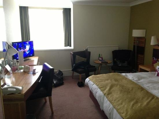 Crowne Plaza Chester: Standard double room