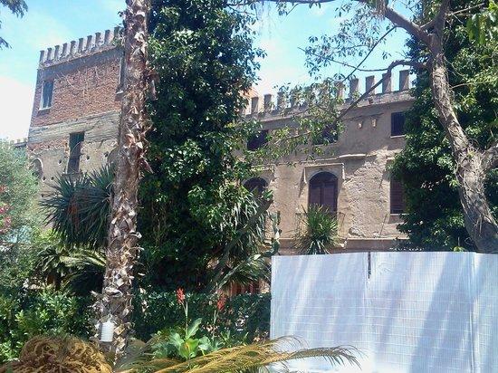 Palazzo Sciacca: vista dal giardino interno