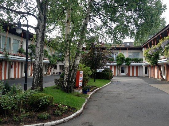 Hamburg Motel: Ruhiger Innenhof