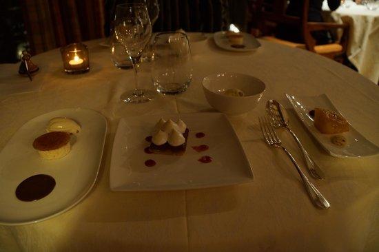 La Belle Vue : les desserts