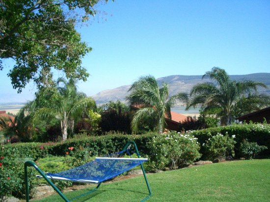 Ein Harod Country Suites & Guesthouse : Double hammock in private garden