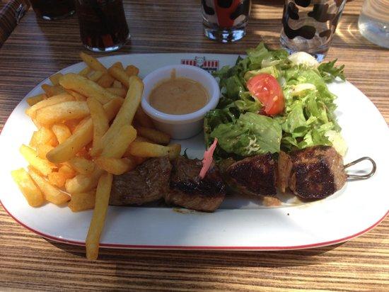 La Boucherie : Brochette de bœuf