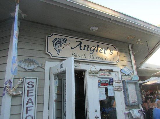 Anglers Beach Market Grill: ANGLER'S SEAFOOD