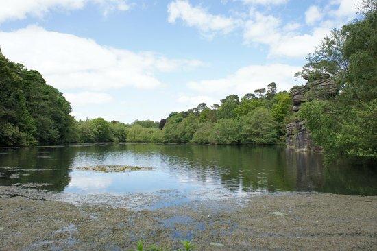Plumpton Rocks: The lake