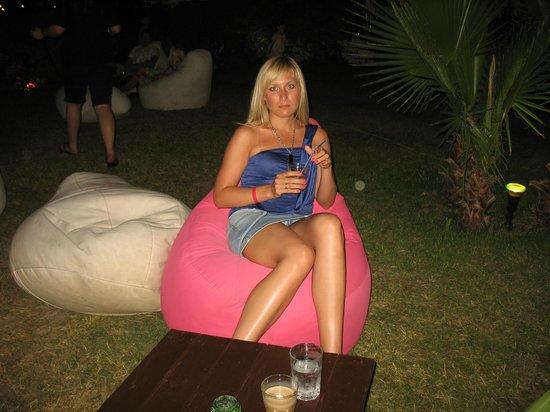 PGS Kiris Resort : Кальянные подушки))