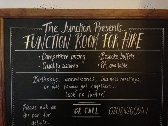 The Junction: Add a caption