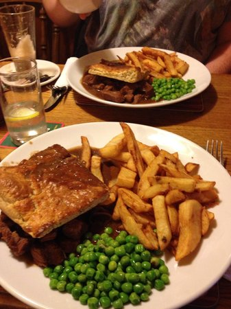 The Flask Inn Restaurant: Yummy at the Flask!